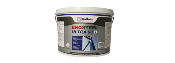 Brosteel Ultra 60 Intumescent Paint For Steel