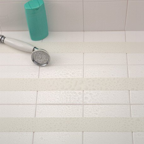 Anti-slip bathroom and shower strips