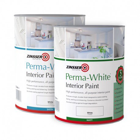Zinsser Perma White - known as eggshell paint in the USA