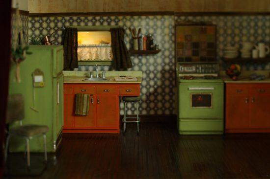 Vintage 70s style kitchen
