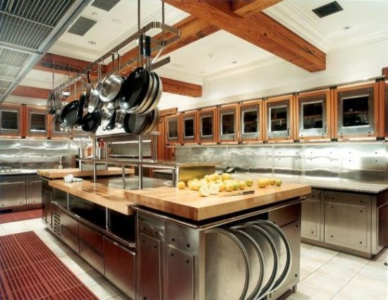 Decorating a commercial kitchen