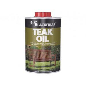 Blackfriar teak oil for interior and exterior use on hardwoods