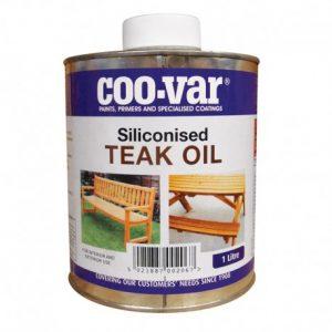 Coo-Var teak oil for indoor and outdoor furniture
