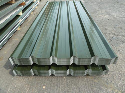 Pre-cut cladding sheets