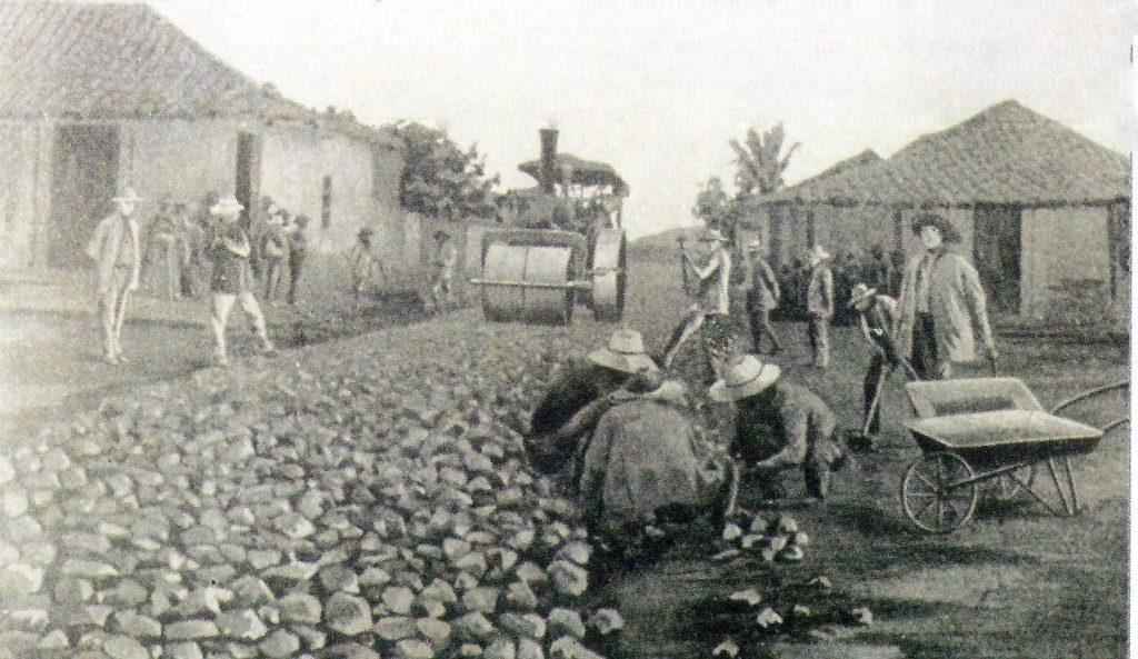 John MacAdam stone road