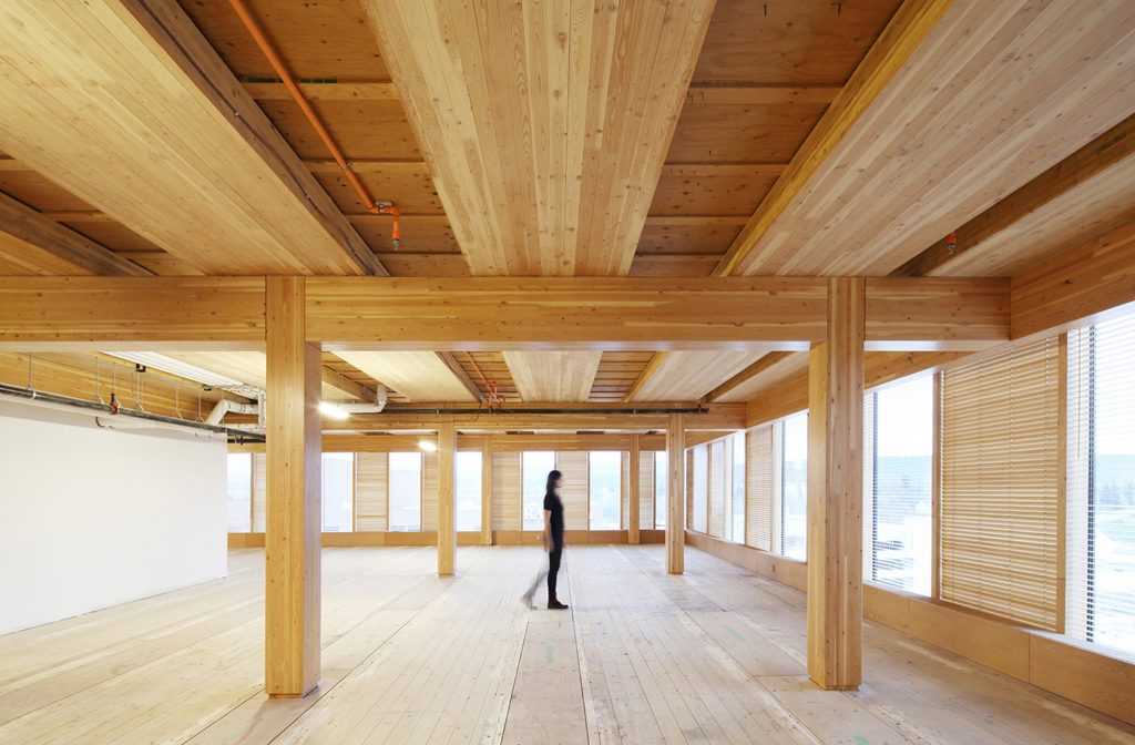 Using fire retardant varnish on timber structures