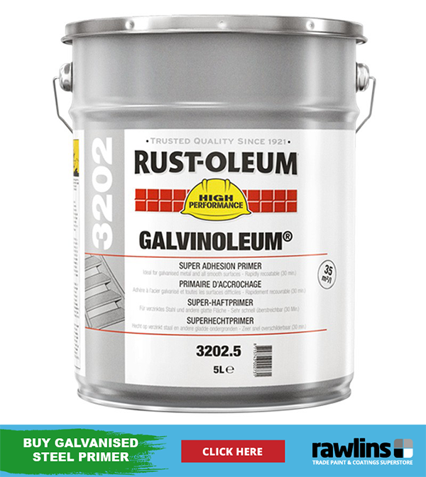 How to Paint Galvanised Metal | Rawlins Paints Blog