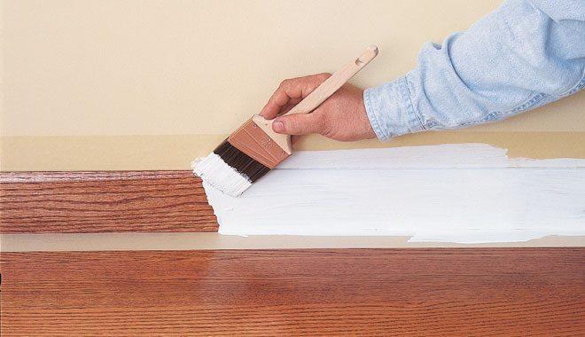 Paint Woodstained Or Varnished Surfaces