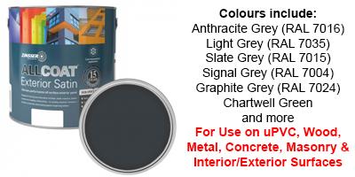 Zinsser Anthracite Grey Paint